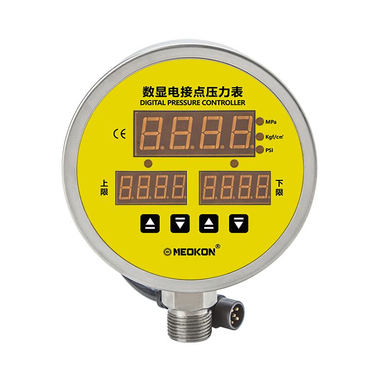 MD-S925M 三屏数显电接点压力表